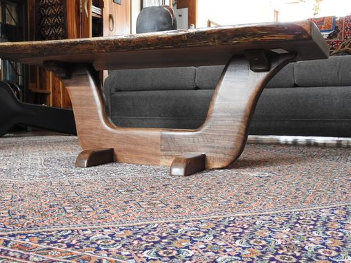 Handmade Live Edge Black Walnut Coffee Table by Run Of The ...