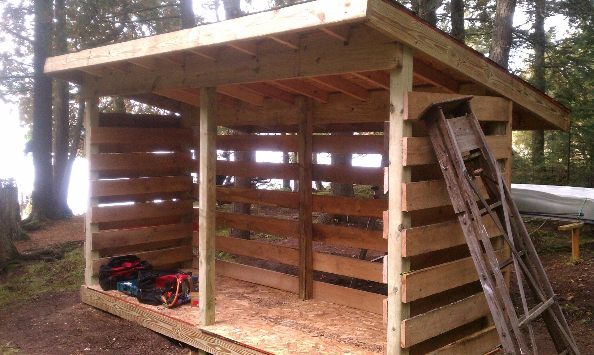 custom made guzeebo kits or wood shed kits by major construction