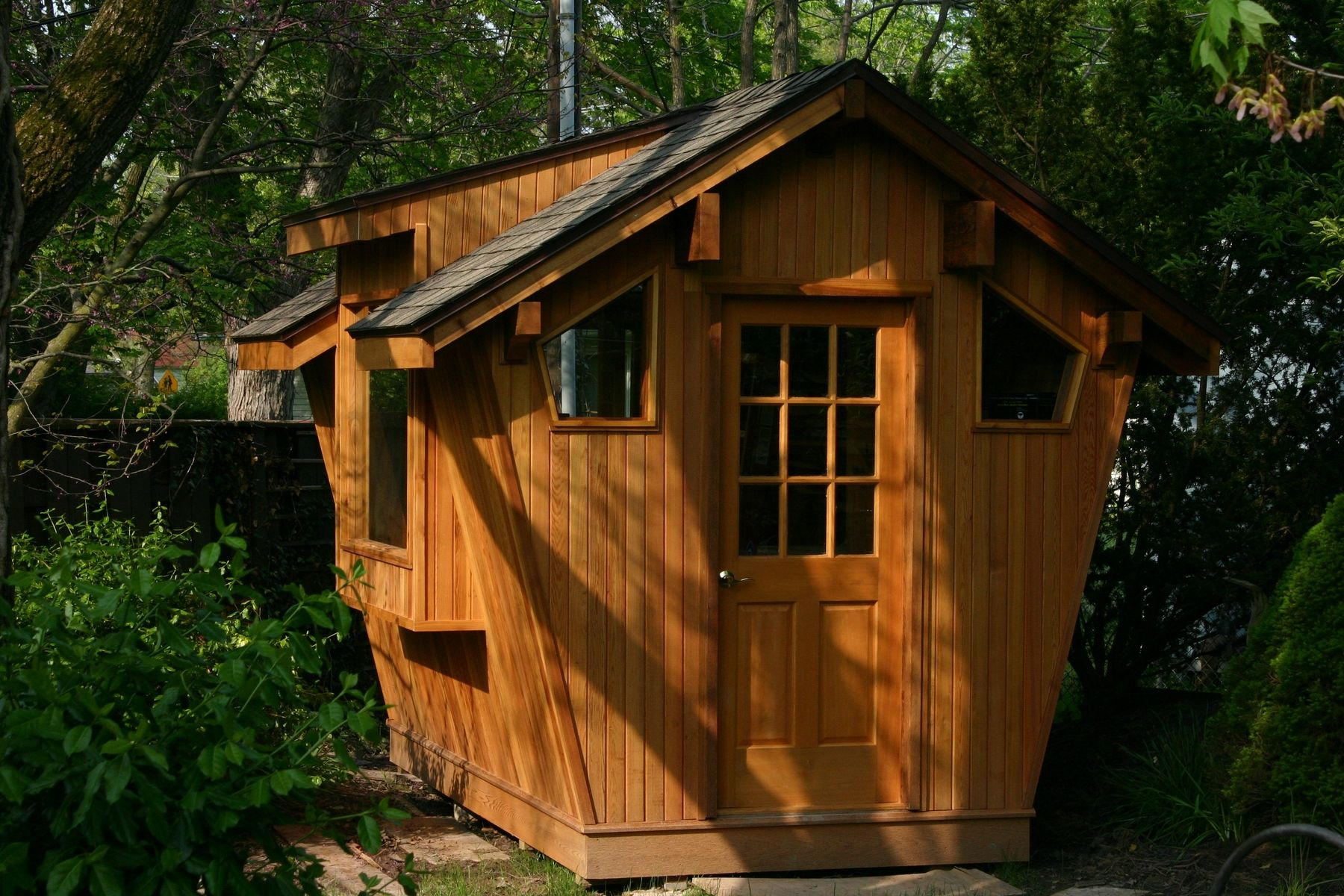 Hand Crafted Cedar Potting Shed By Whim Wood Custom