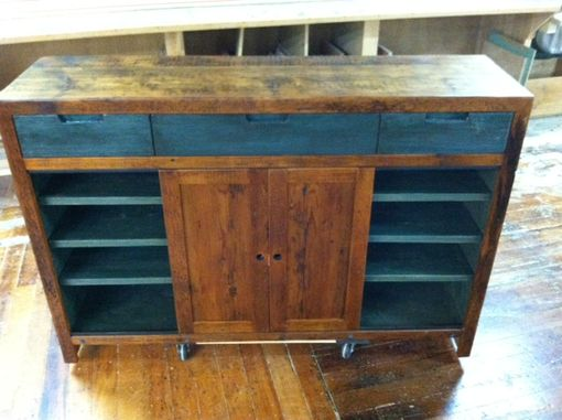 Custom Made Reclaimed Media Center