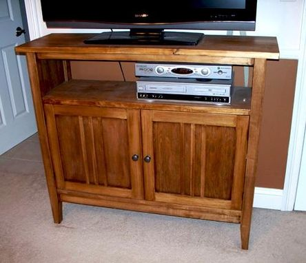 Custom Made Tv Stand