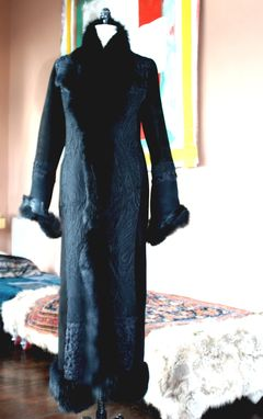 Custom Made Black Evening Coats