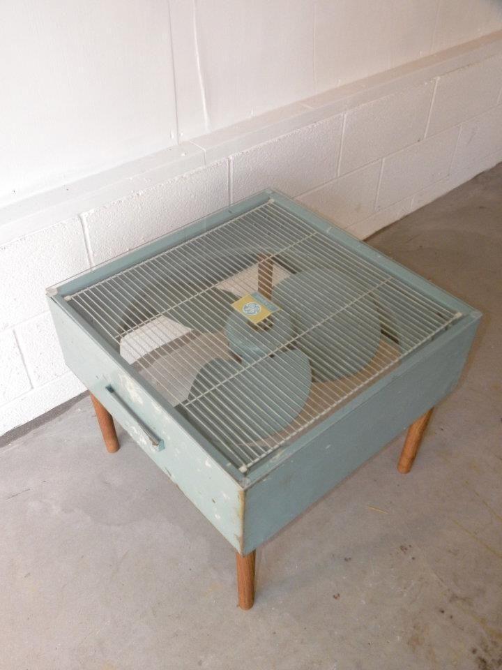Custom Ge Box Fan Table By Remix Design Custommade Com