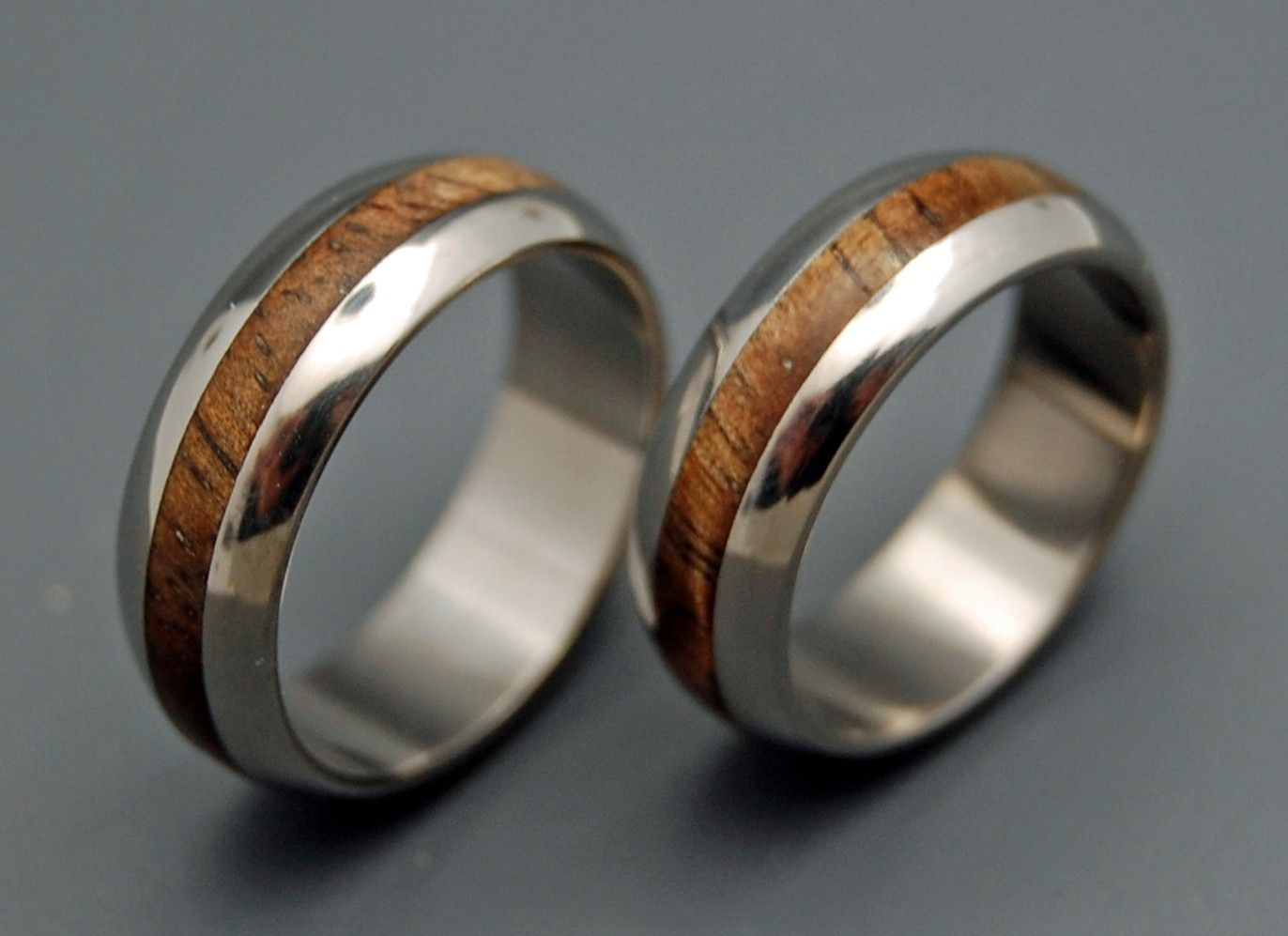 hand crafted titanium wedding rings | mahalominter & richter