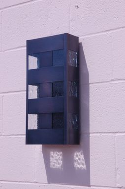 Custom Made Window Box Wall Sconce