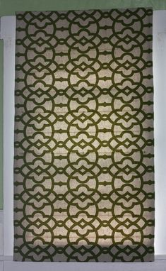 Custom Made Custom Professional Custom Flat Roman Shade Window Treatment Made To Order