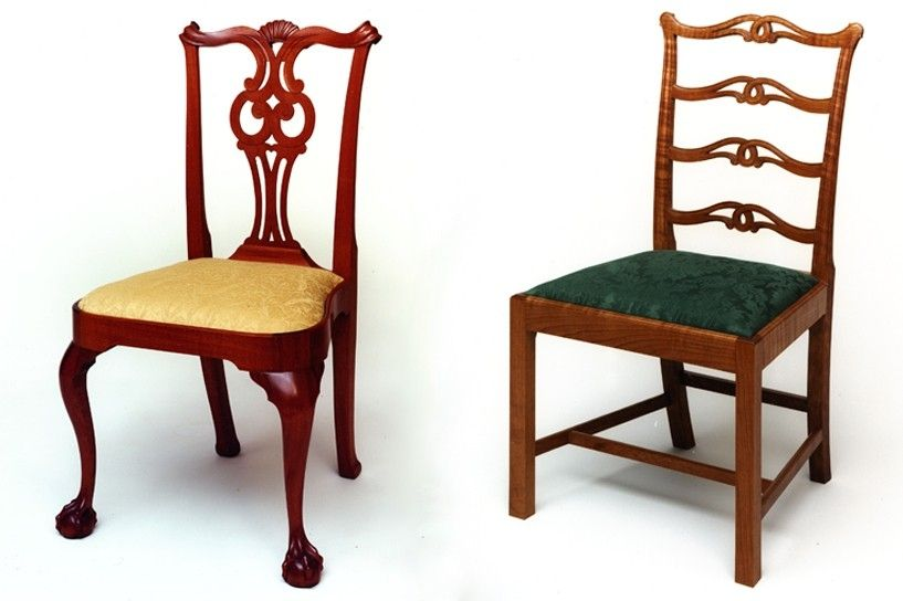 Hand Crafted Chippendale Chairs By Piscataqua Design Llc