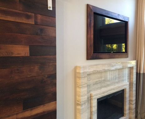 Custom Made Barn Doors From Salvaged Wood