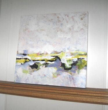 Custom Made Abstract Landscape, Original Acrylic On Canvas