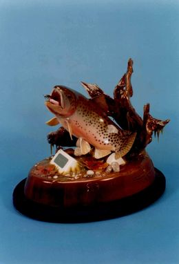 Custom Made Cutthroat Trout Sculpture