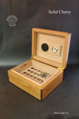 Custom Made Custom Humidor For 50 Quanity.