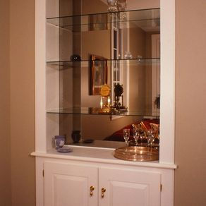 Built In Wall Cabinet By Fred Miller