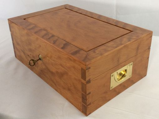 Custom Made Cherry Jewelry Box