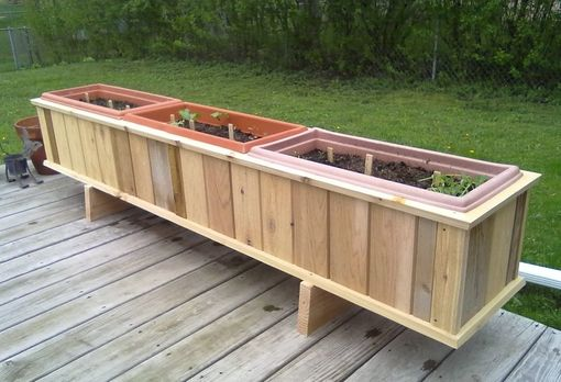 Custom Made Herb Planter