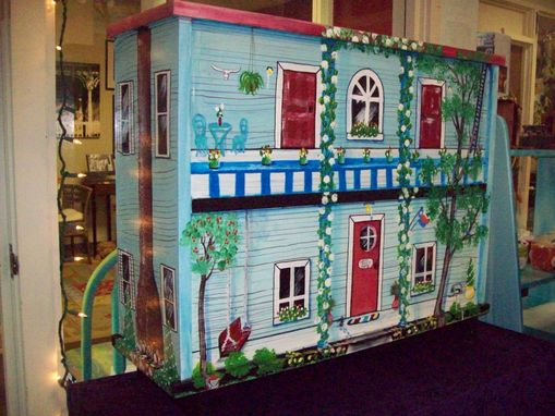 Custom Made Doll House Bookcase