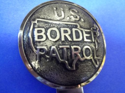 Custom Made Wmc136 United States Border Patrol Key Rings