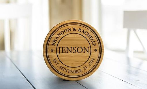 Custom Made Personalized Solid Bamboo Trivets
