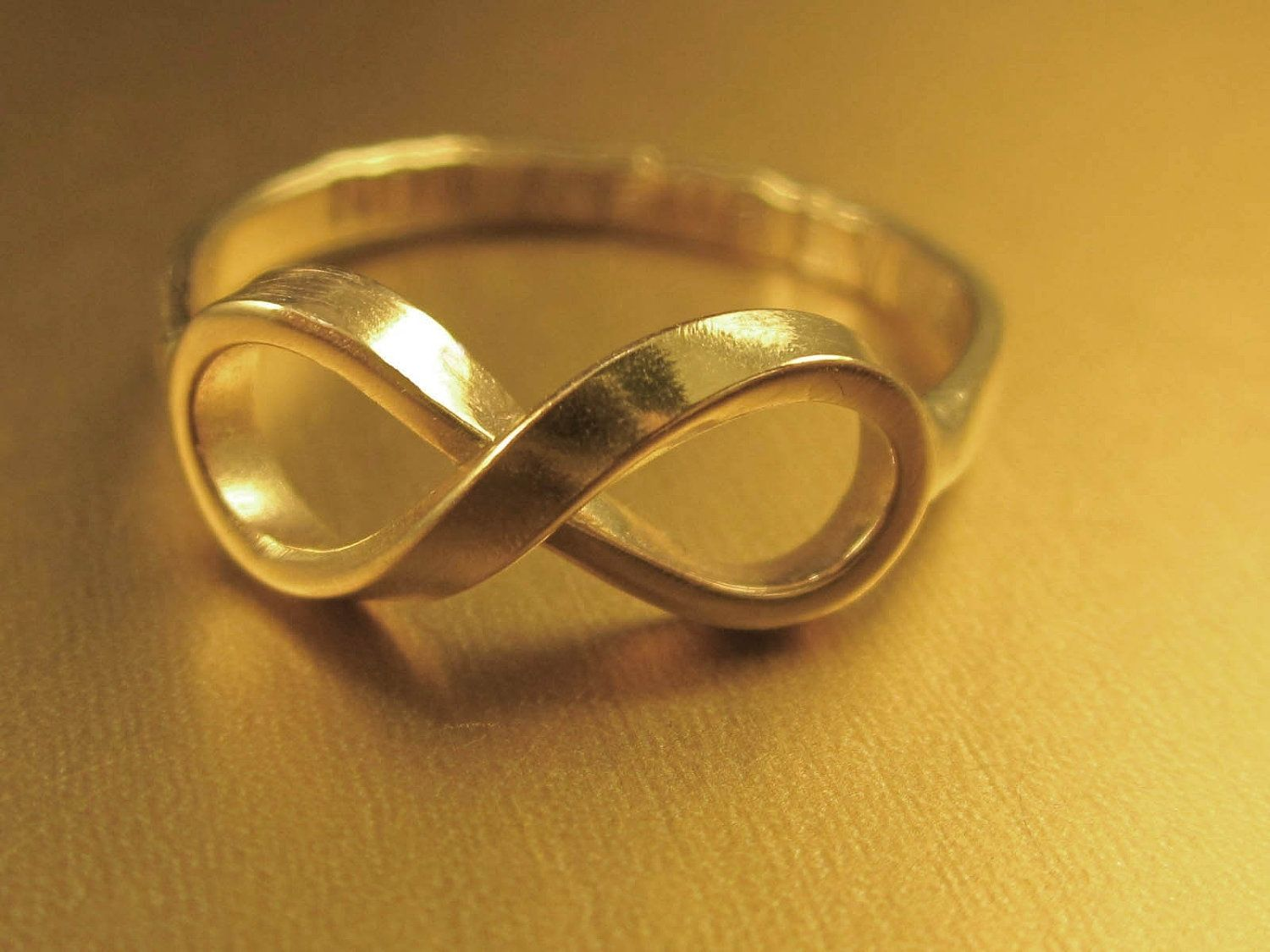 Hand made infinity ring in solid gold by donnaodesigns custom made infinity ring in solid gold biocorpaavc