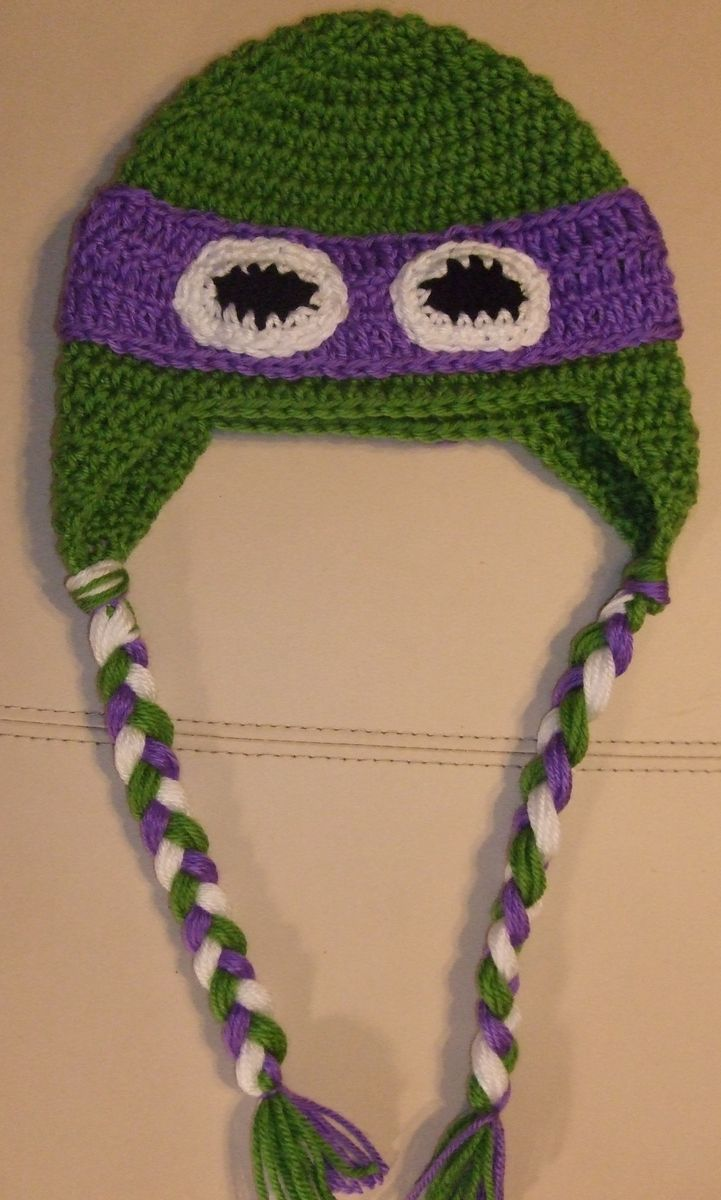 Custom Made Tmnt Inspired Earflap Hat by Knot Addicted  e6abc7ab73b