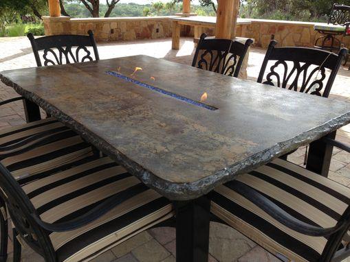 Custom Made Cfrc Concrete Fire Tables Amp Fire Pits By Concrete Jungle Custommade Com