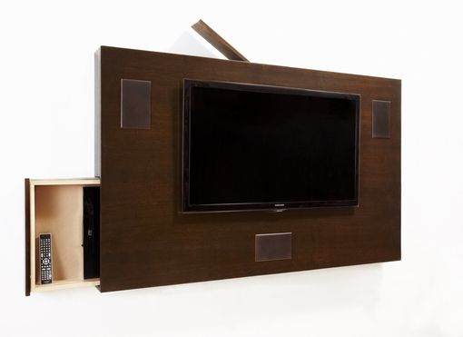 Custom Made Awall -  Wall Unit, Media Storage, Media Console, Stereo Cabinet, A/V Cabinet, Credenza