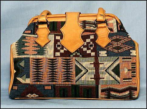 Custom Made Tapestry Handbag