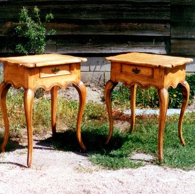 "Custom Made ""Iberian Nights"" - Portuguese Style Bed-Side Tables"