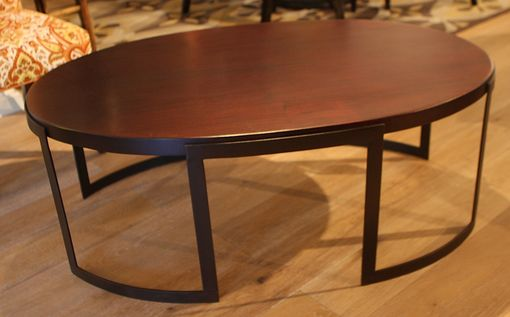 Custom Made Brooklyn Oval Cocktail Table