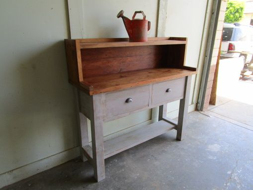 Custom Made Kitchen Cabinet Made From Reclaimed Wood In The Usa