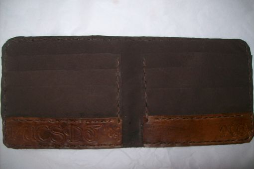 Custom Made Custom Leather Bifold Wallet