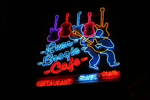 Custom Made Fine Art Photographs Of Five Neon Signs