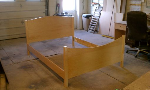 Custom Made Maple Lynn Bed