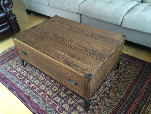 Hand Crafted Lift Top Coffee Table By M Karl Llc