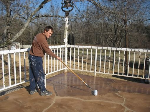 Custom Made Swimming Pool Deck Project