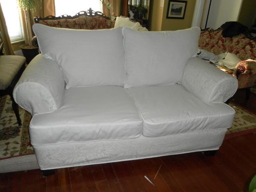 Custom Made Loveseat Slipcover