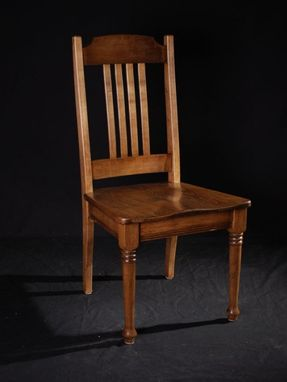 Custom Made Custom Maple Chair