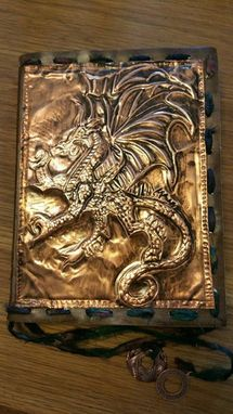 Custom Made Metal Art  Journals