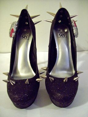Custom Made Hello Kitty Heels (Spiked Kitty - Your Name)