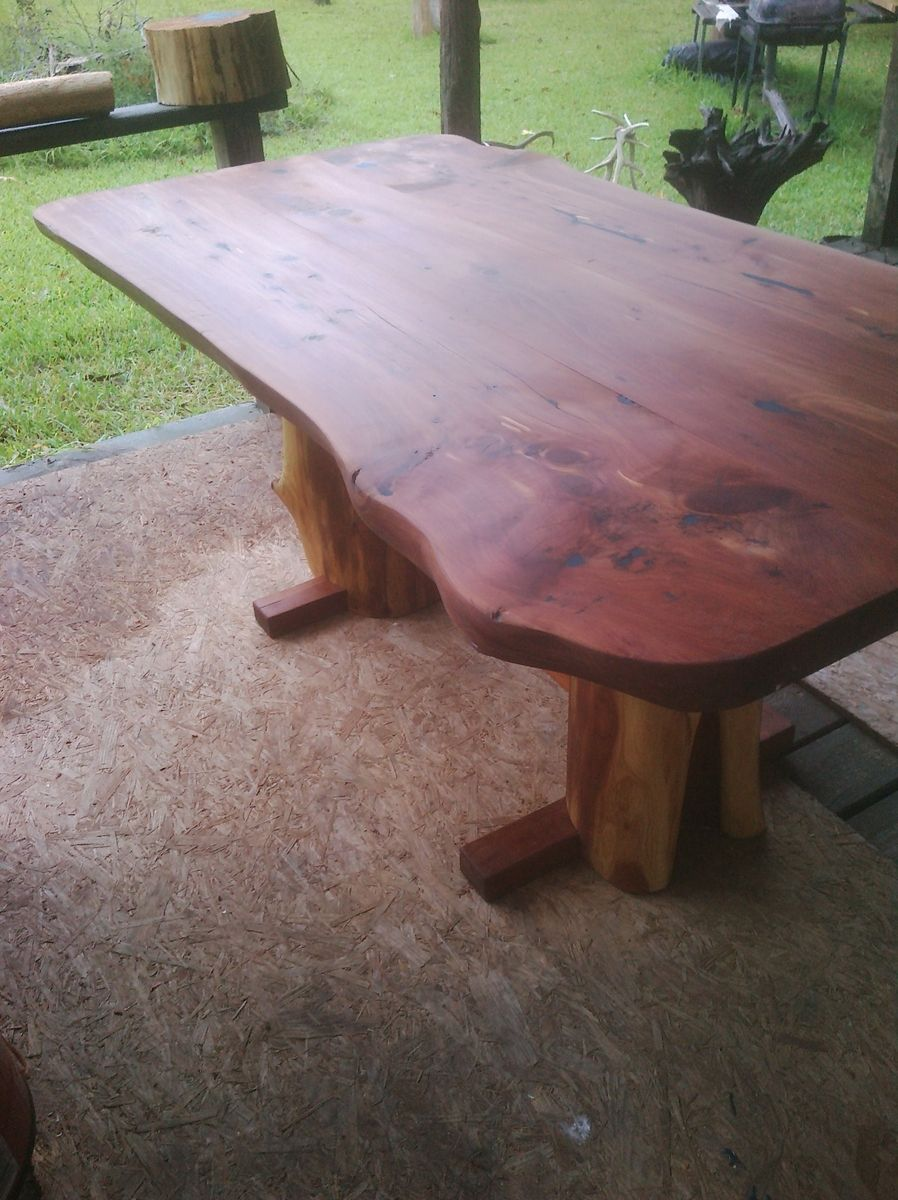 Custom Made Eastern Red Cedar Table (Heart Cedar) - Custom Made Eastern Red Cedar Table (Heart Cedar) By Indian Creek