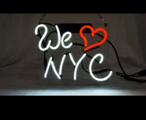 Custom Made We Love Nyc Neon Sign