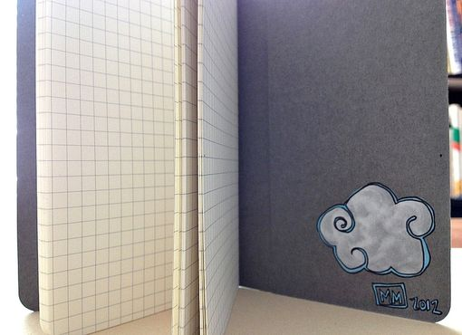 Custom Made Cloud Notebook