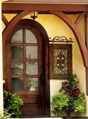 Custom Made Custom Half Round Entry Door