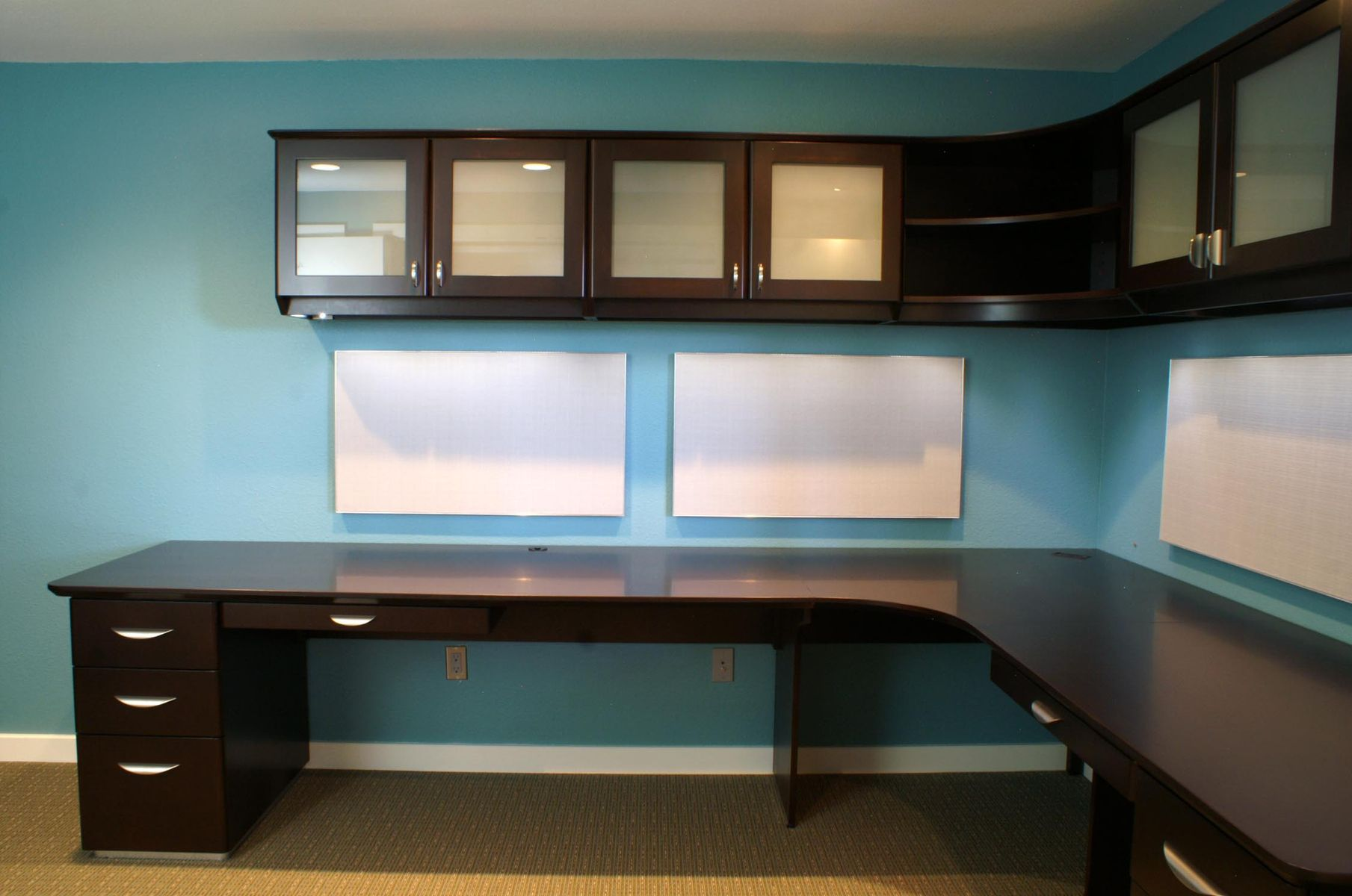 Custom Made Contemporary Desk System