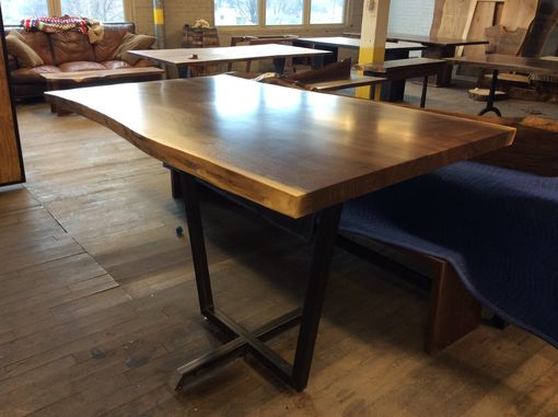 Custom Made Pub Table With Pedestal Base