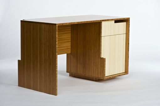 Custom Made Desk - Bamboo