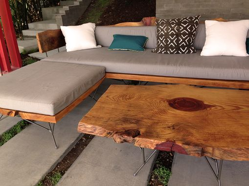 Custom Made Fallen Tree Patio Set