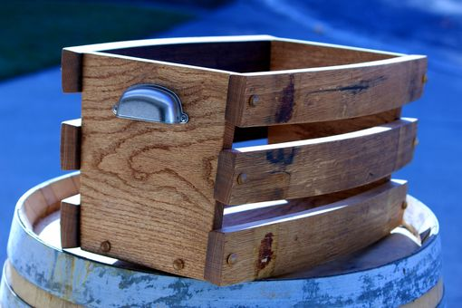 Custom Made Wine Stave Basket