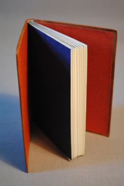 Custom Made Full Leather Binding With Onlays