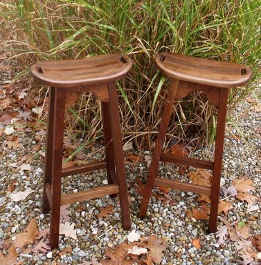 Custom Made Curvey Bar Stools With Swivels