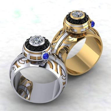 Custom Made The Ultimate Bb Spinner Ring- Ladies